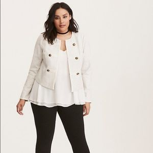 Torrid Fitted Military Jacket